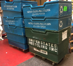 Used Plastic Laundry Cart  - UPLC