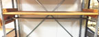 Used Stockroom Shelving Hang Rails - USRSHR