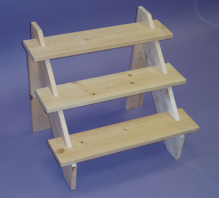 Step Wood Riser