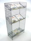 All Purpose 3-Level Wire Shelf Unit - WS04
